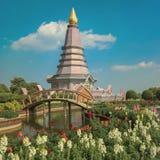 Het Nationale park van Doiinthanon, Thailand stock foto