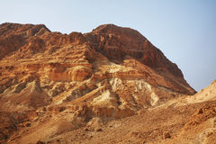 Het nationale Park van Eingedi israël Stock Afbeelding