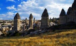 Het Nationale Park van Göreme, Turkije Stock Foto