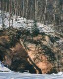 Het Nationale Park van Gauja Stock Afbeelding