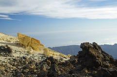 Het nationale park van Gr Teide, Tenerife Stock Afbeeldingen