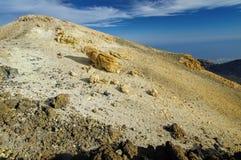 Het nationale park van Gr Teide, Tenerife Stock Afbeelding