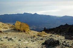 Het nationale park van Gr Teide, Tenerife Royalty-vrije Stock Afbeelding