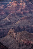 Het Nationale Park van Grand Canyon, Arizona. Stock Foto