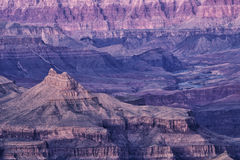 Het Nationale Park van Grand Canyon, Arizona. Royalty-vrije Stock Foto