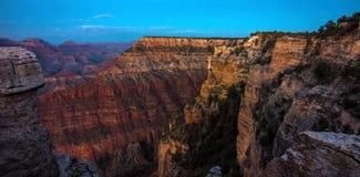 Het Nationale Park van Grand Canyon van Mather Point in de Verenigde Staten stock foto's