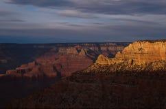 Het Nationale Park van Grand Canyon, mening van het Zuiden Rim Arizona, de V.S. royalty-vrije stock afbeelding