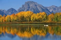 Het Nationale Park van Grand Teton royalty-vrije stock foto's