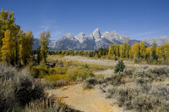 Het Nationale Park van Grand Teton Stock Foto