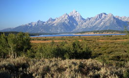 Het Nationale Park van Grand Teton, Wyoming, de V.S. stock foto's
