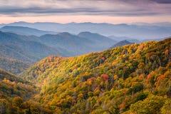 Het Nationale Park van Great Smoky Mountains stock afbeeldingen