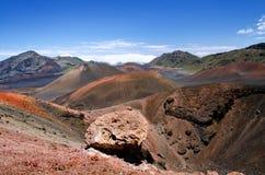 Het Nationale Park van Haleakala stock afbeelding