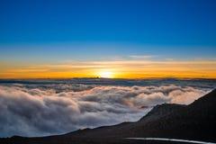 Het Nationale Park van Haleakala, Maui, Hawaï Stock Fotografie