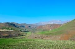 Het Nationale Park van het Kasteel van reuzen (Zuid-Afrika) royalty-vrije stock afbeelding