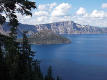 Het Nationale Park van het kratermeer Stock Afbeelding