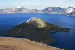 Het Nationale Park van het kratermeer Royalty-vrije Stock Afbeeldingen