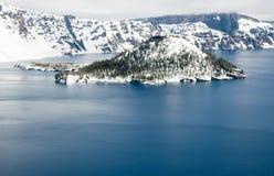 Het Nationale Park van het Meer van de krater Royalty-vrije Stock Afbeelding