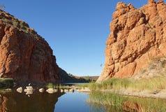 Het Nationale Park van het westenmacdonnell, Australië stock afbeelding