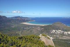 Het Nationale Park van het Wilsonsvoorgebergte, Victoria, Australië royalty-vrije stock foto