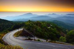Het Nationale Park van Inthanon van Doi Stock Afbeelding