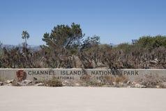 Het Nationale Park van kanaaleilanden Stock Afbeeldingen