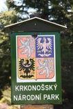 Het Nationale Park van Karkonosze Stock Afbeelding