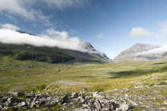 Het Nationale Park van Kebnekaise Royalty-vrije Stock Afbeeldingen