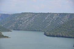 Het Nationale Park van Krka Stock Foto