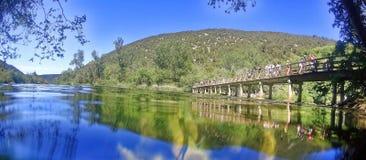 Het nationale park van Krka in Kroatië stock afbeeldingen