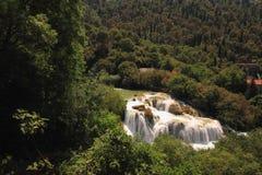 Het Nationale Park van Kroatië Krka Stock Fotografie