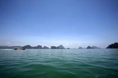 Het Nationale Park van Nga van Phang Royalty-vrije Stock Foto