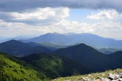 Het Nationale Park van panoramaslavyanka royalty-vrije stock foto's