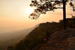 Het Nationale Park van Phukradueng Stock Afbeeldingen