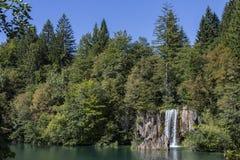 Het Nationale Park van Plitvicemeren - Kroatië Stock Afbeeldingen