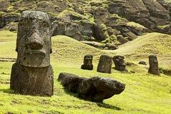 Het Nationale Park van Rapanui Stock Fotografie