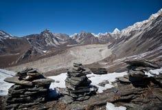 Het Nationale park van Sagarmatha, Nepal Stock Fotografie