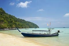 Het nationale park van Surineilanden, Thailand Stock Afbeelding