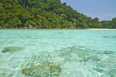 Het nationale park van Surineilanden, Thailand Royalty-vrije Stock Foto's