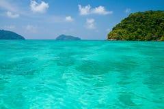 Het nationale park van Surineilanden, Thailand Royalty-vrije Stock Afbeelding