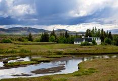 Het Nationale Park van Thingvellir Royalty-vrije Stock Afbeeldingen