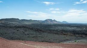 Het nationale park van Timanfaya Stock Afbeeldingen
