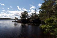 In het Nationale Park van Tiveden royalty-vrije stock fotografie