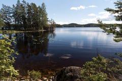 In het Nationale Park van Tiveden royalty-vrije stock foto's