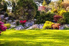 Het Nationale Park van tuinenmuckross Killarney, Ierland Stock Foto's