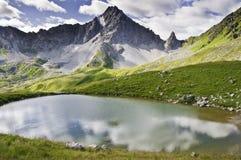 Het Nationale Park van Vanoise Stock Fotografie