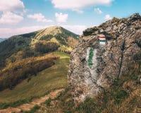 Het Nationale Park van Velkafatra, Slowakije Stock Foto