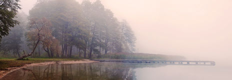 Het nationale park van Wigry Stock Foto