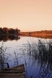 Het nationale park van Wigry Stock Afbeelding