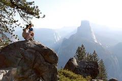 Het Nationale Park van Yosemite royalty-vrije stock foto