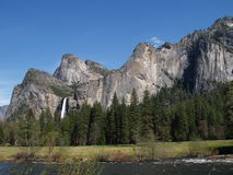 Het Nationale Park van Yosemite Stock Foto's